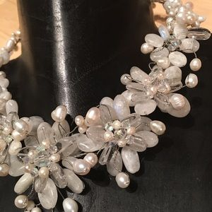 Bridal pearl necklace NEW